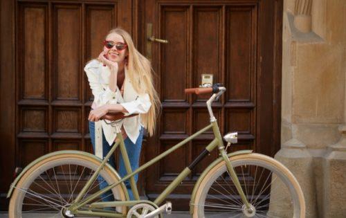 運命!の自転車